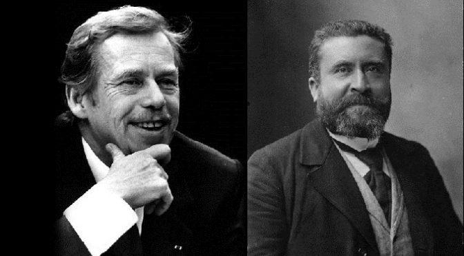 Václav Havel/Jean Jaurès : lecture croisée