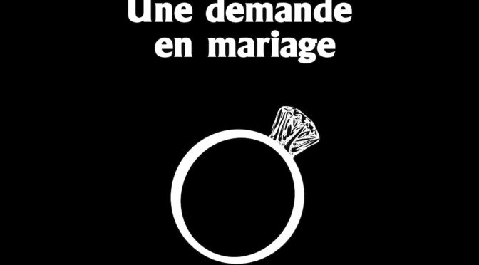 <em>Une demande en mariage</em> à Bougival